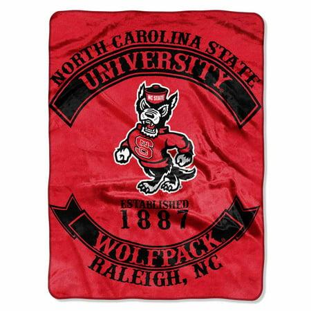 NC State Oversize Plush Blanket