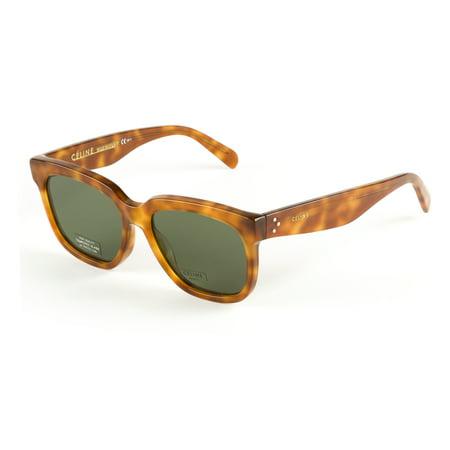 60e91d1deb7 Celine - Celine Radical Sunglasses 55mm Light Havana - Walmart.com