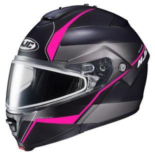 Hjc Is Max 2 Mine Snow Helmet Matte Black Pink