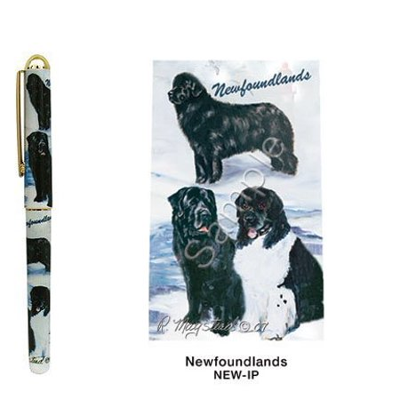 Newfoundland Roller Ball Pen Designer Ruth Maystead, Smooth writing By Best Friends by Ruth