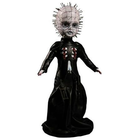 Hellraiser III Pinhead Doll, Living Dead Dolls Hellraiser III Pinhead Doll By Living Dead Dolls - Hellraiser Pinhead Mask