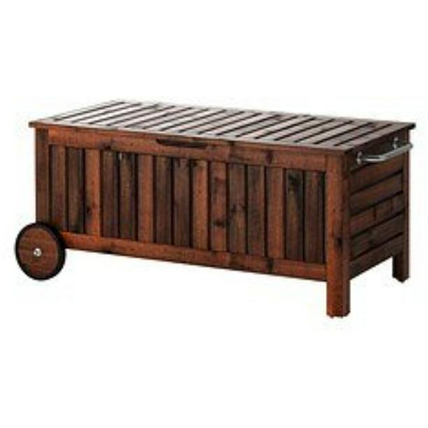 Ikea Storage Bench Outdoor Brown, Ikea Outdoor Garden Shed