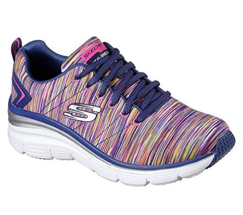 Skechers Fashion Fit Art Rage Womens Sneakers Navy/Multi 5
