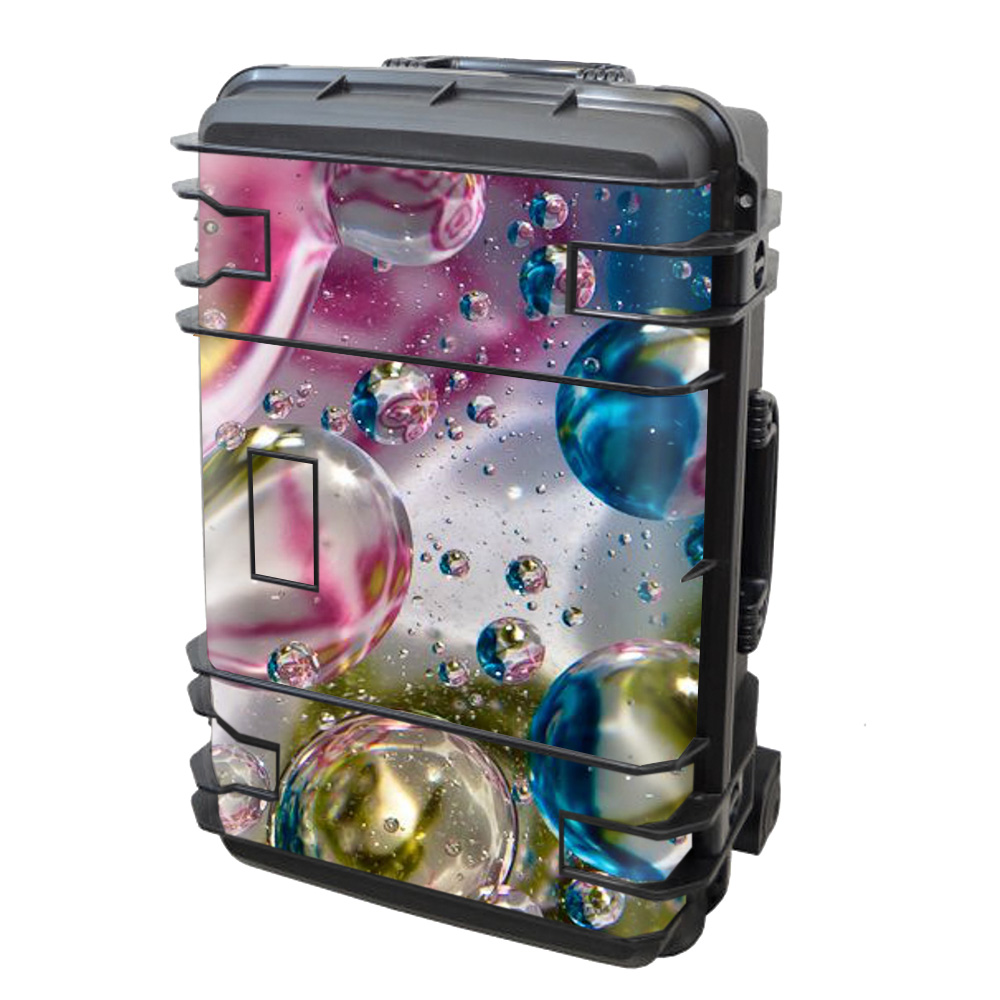 Skin Decal Vinyl Wrap for Seahorse SE-920 Case stickers skins cover/ Bubblicious Water Bubbles Colors