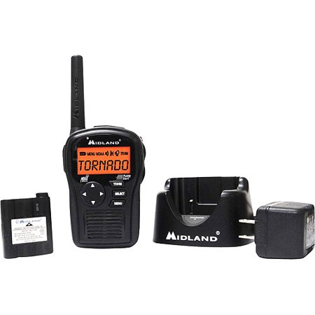 Midland Same All-Hazard Handheld Weather Alert Radio, HH54VP2 by