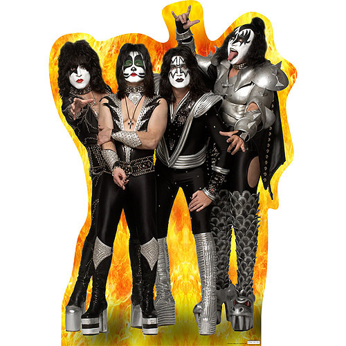 Kiss Group Band Standee