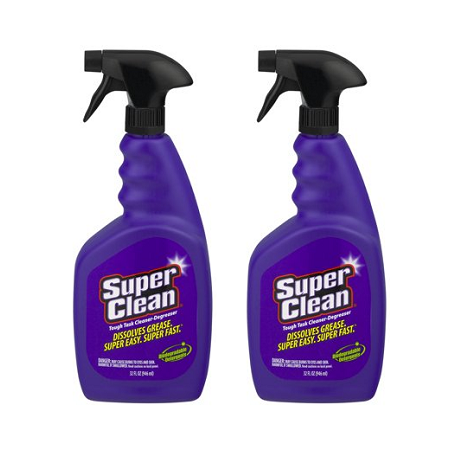 (2 pack) SuperClean Tough Task Cleaner-Degreaser, 32