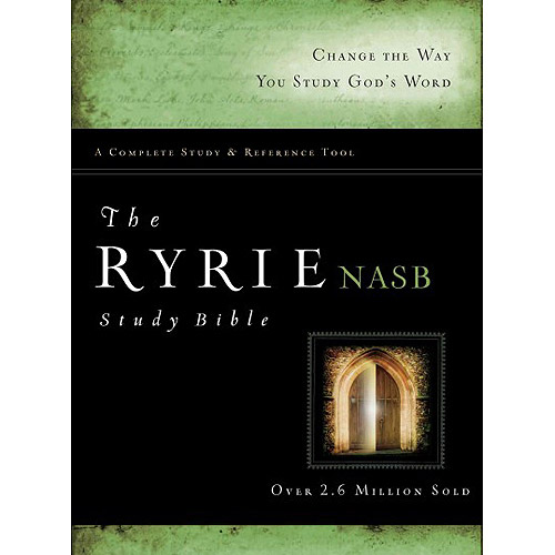 Ryrie Study Bible: New American Standard Bible, Red Letter Edition