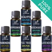 Pure Essential Oil Set (6x10mL) Natural Aromatherapy for Oil Diffuser Humidifier