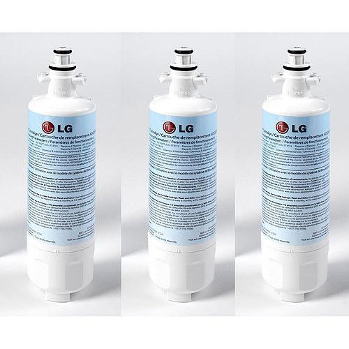 lg refrigerator water filter replacement. lg lt700p-3-kit replacement 200-gallon refrigerator water filter, 3pk lg filter 3