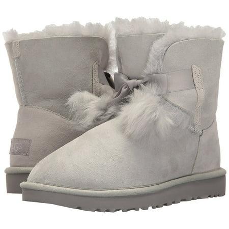 09b25f1c2e7 Gita Women's Shoes Sheepskin Pom Pom Boot 1018517 Grey Violet