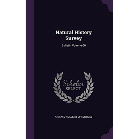 Natural History Survey: Bulletin Volume 06 - image 1 of 1
