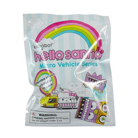 Kidrobot Hello Kitty Micro Vehicle Series Blind Bag Mini Figure (1 Figure) - Hello Kitty Halloween Figures