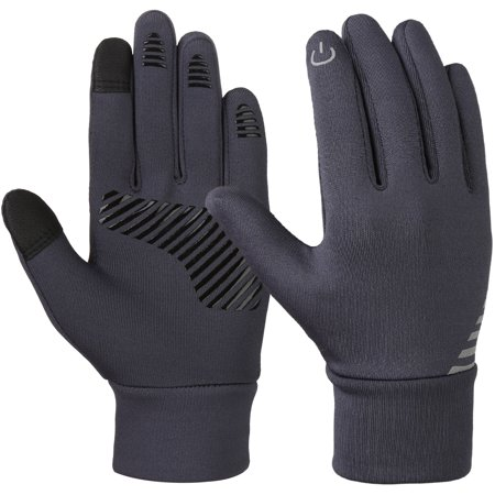 Kids Winter Gloves-Fitbest Kids Winter Gloves Anti-skid Touch Screen Gloves Soft Outdoor Sports Gloves Warm Gloves Cold Weather Gloves for Kids 4-6 Years Old - Old Globes