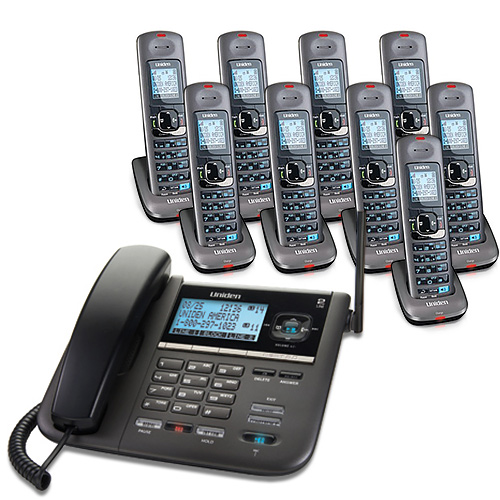Refurbished Uniden DECT4096-9-R 2-Line DECT 6 Corded Cordless Phone by Uniden