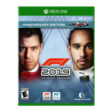 F1 Racing Drivers - F1 2019 Anniversary Edition, THQ-Nordic, Xbox One, 816819016282