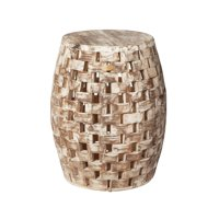 Patio Sense Maya Oval Garden Stool