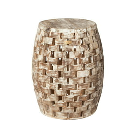 Admirable Patio Sense Elyse Square Garden Stool Pabps2019 Chair Design Images Pabps2019Com