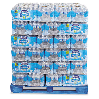 Nestle Waters Pure Life Purified Water, 0.5 liter Bottles...
