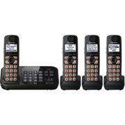 DECT 6.0 Plus Expandable Digital Cordless Answering System with 4 Handsets