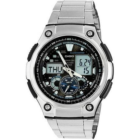 Casio Men's Stainless-Steel Multi-Task Gear Sports Watch
