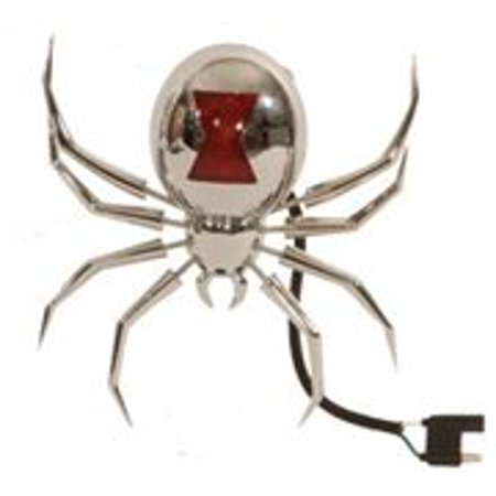 Black Widow Receiver Cover and Brake Light By Hitch Critter - Black Widow Necklace
