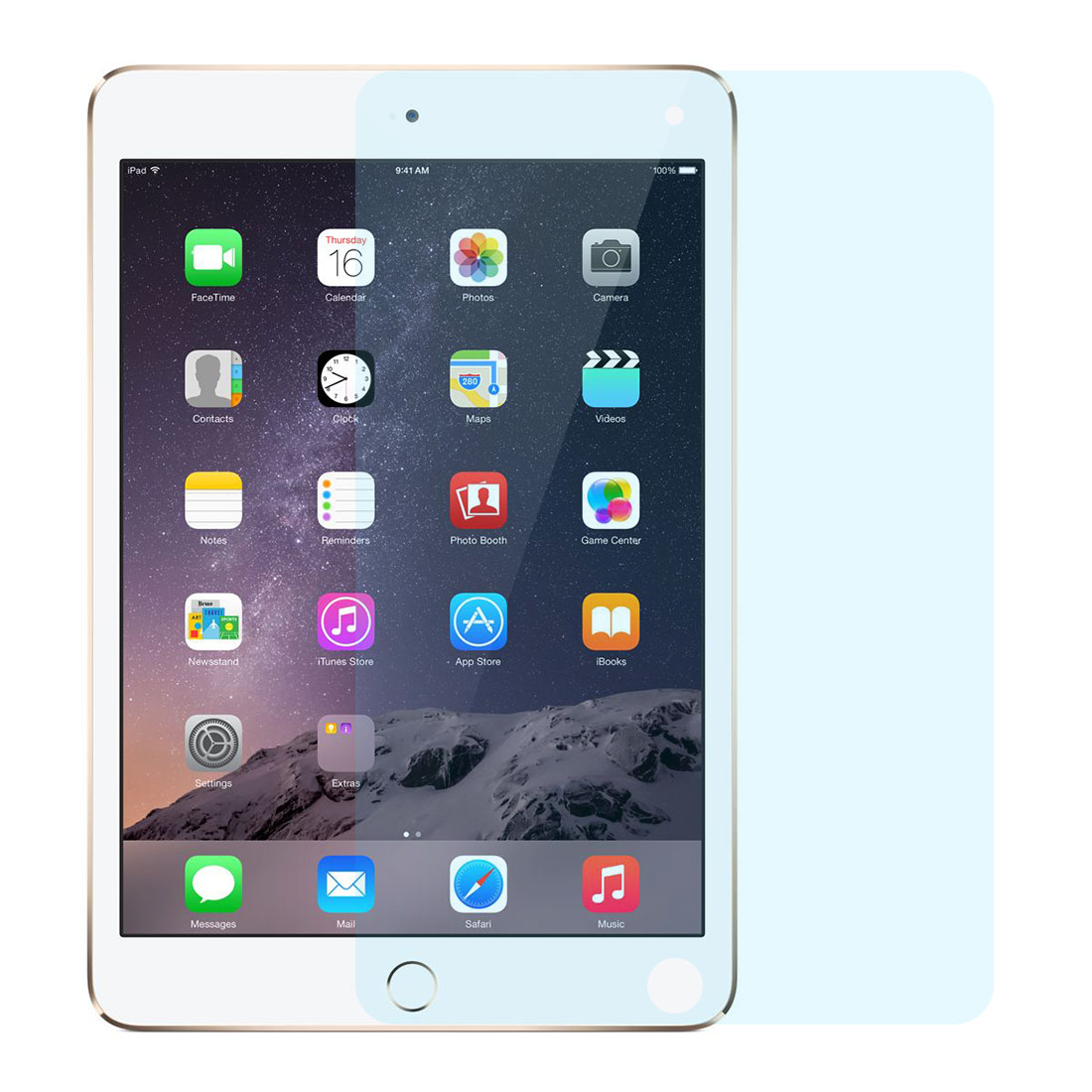Plastic Anti Blue Light High Definition Screen Protector 2pcs for IPad Mini 4
