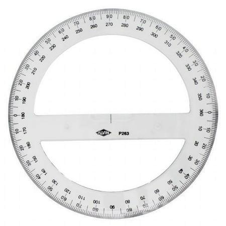 """Alvin 8"""" Circular Protractor"""