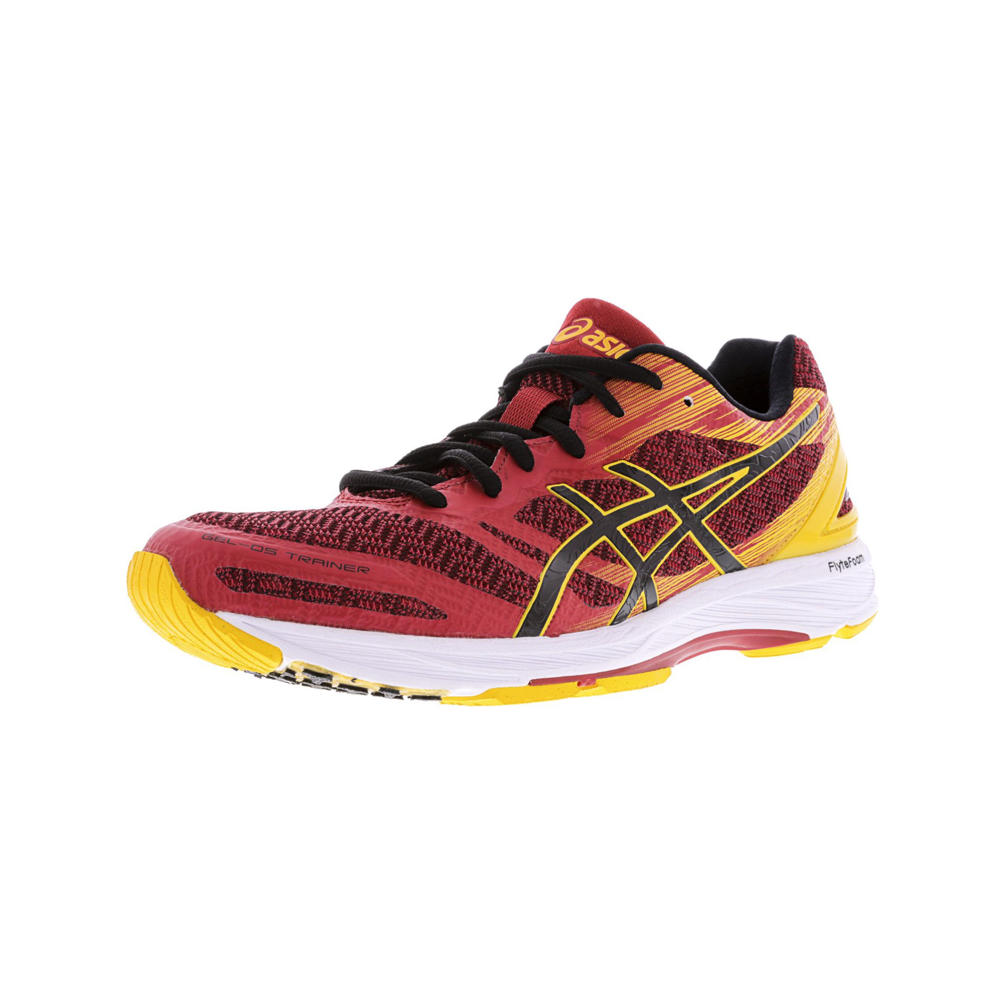 new concept c85ad d750e Asics Men's Gel-Ds Trainer 22 Carbon / Black Safety Yellow Ankle-High  Training Shoes - 14M