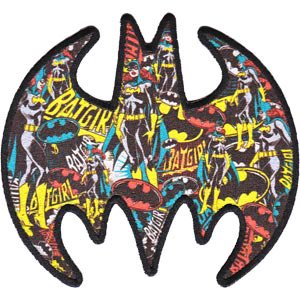 Patch - DC Comic - Batman - Multi Batgirl Logo Iron On Gifts Toys New p-dc-0063 (Batgirl 20)