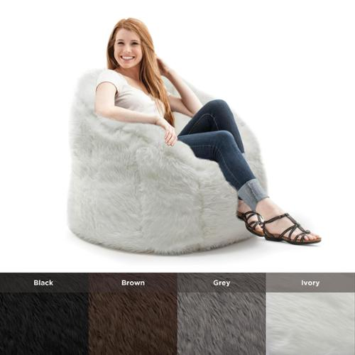 Big Joe  Lux Milano Shag Fur Chair