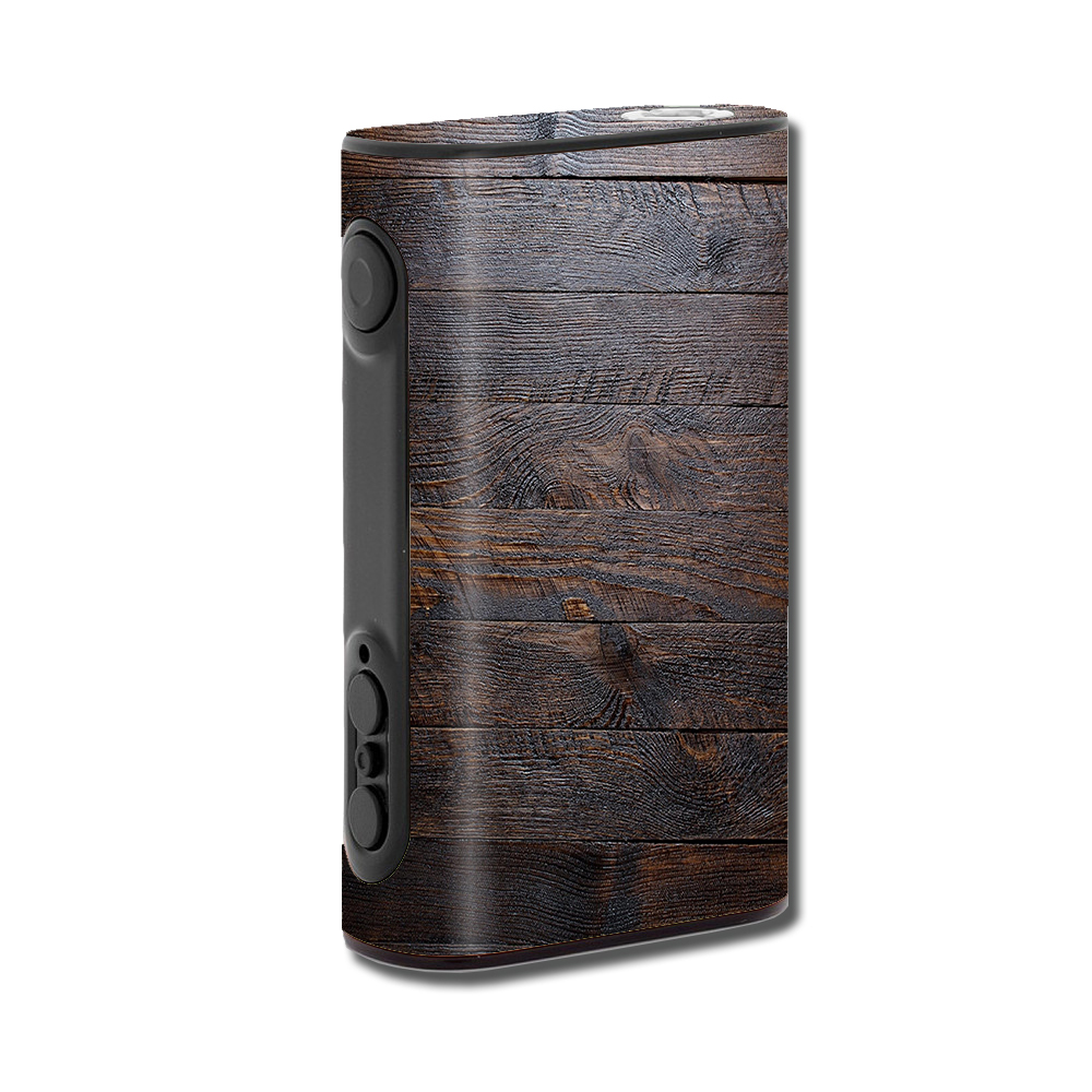 Skins Decals For Eleaf Ipower 80W Vape Mod / Wooden Wall Pattern