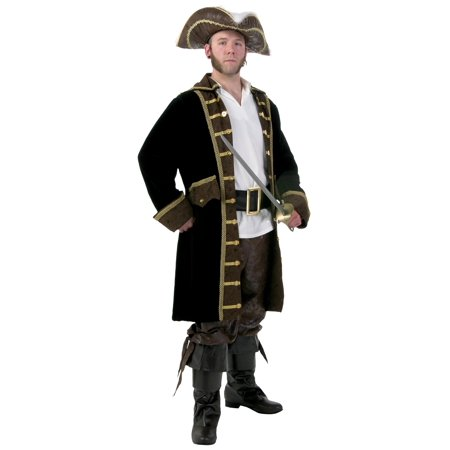 Men's Plus Size Realistic Pirate - Realistic Pirate Costumes