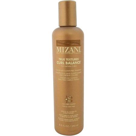 True Curls Shampoo (Mizani True Textures Curl Balance Moisturizing Sulfate-Free Shampoo, 8.5 Fl Oz )