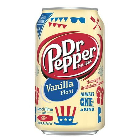 Dr Pepper Vanilla Float 12 Fl Oz Walmart Com