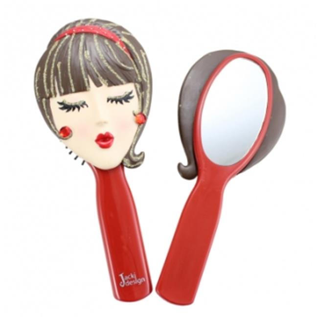 Jacki Design JGS22329RD Tina Style Mirror, Red