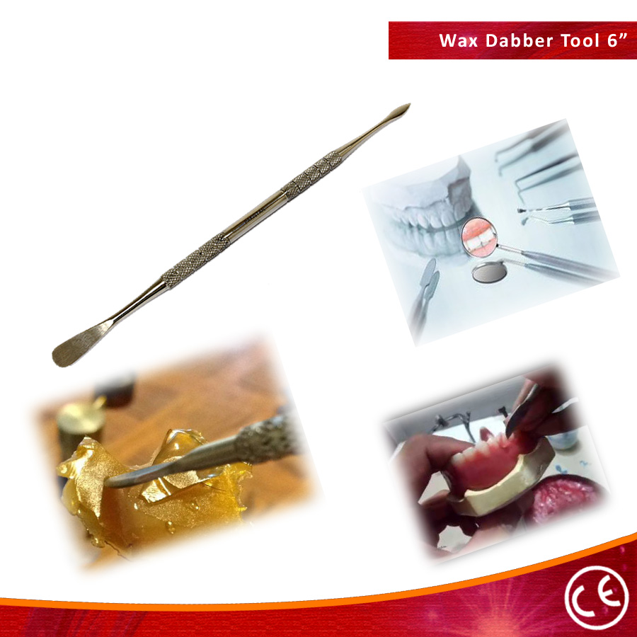 """BDeals 6"""" Dual Tip Dental Probe Pick Wax Carver Tool Stainless Steel"""