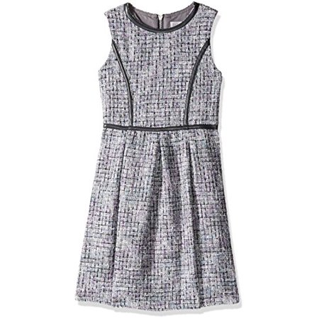 2fa6c2625837a Blush by Us Angels Big Girls' Sleeveless Princess Fit and Flare Party Dress,  Gray, 7 - Walmart.com