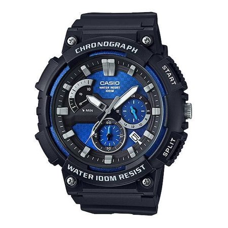 Casio MCW200H Men's Heavy Duty Series Resin Band Analog Chronograph Watch - Professional Chronograph Series