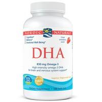Nordic Naturals 830 mg, 180 ct DHA Omega-3 Softgels, Strawberry