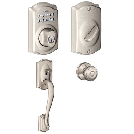 Schlage Be365cam619 Keypad Deadbolt W Entry Georgian