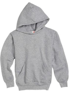 Hanes Boys 4-18 EcoSmart Fleece Pullover Hoodie Sweatshirt
