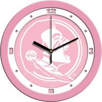Florida State Pink Wall Clock