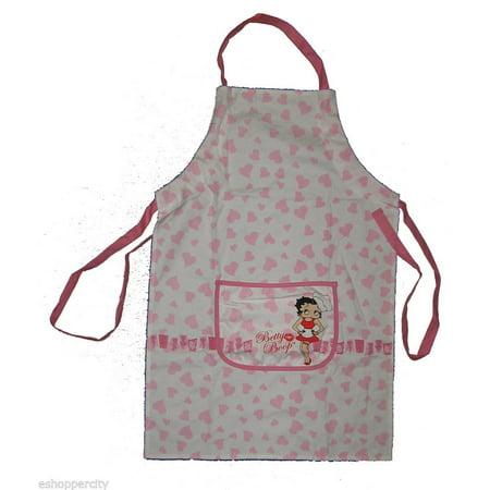 Betty Boop Kitchen Apron New Design Cotton Kitchen Cook (Betty Boop Kitchen)