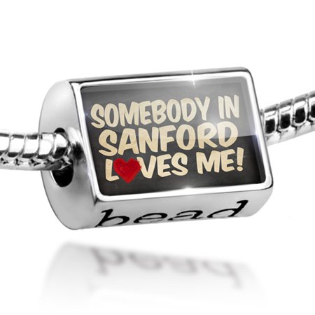 Bead Somebody in Sanford Loves me, Florida Charm Fits All European - Party City Sanford Florida