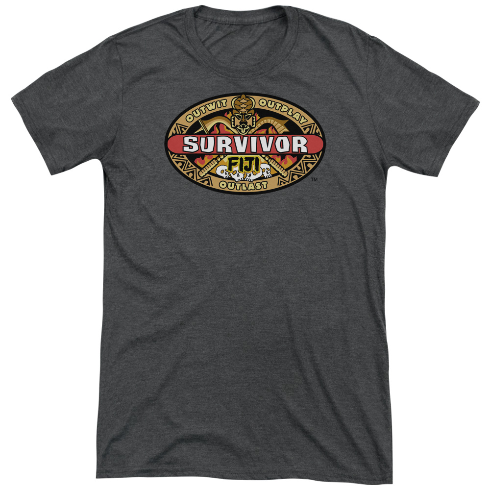 Survivor Fiji Mens Tri-Blend Short Sleeve Shirt