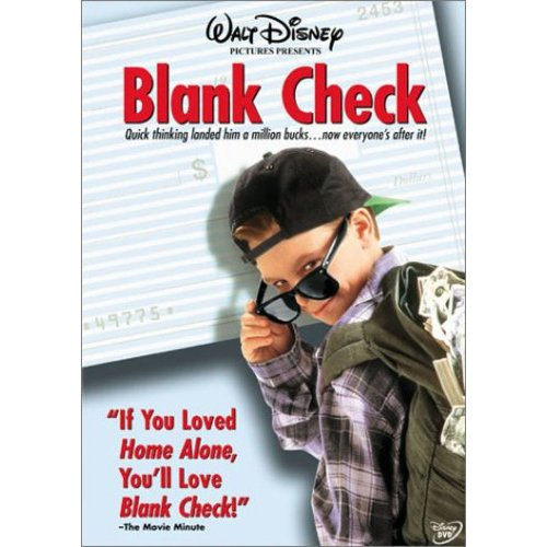 Blank Check (Full Frame)