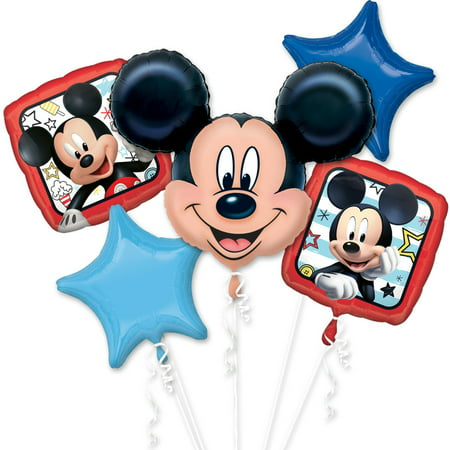 Disney Mickey Mouse and The Roadster Racers Foil Balloon Bouquet