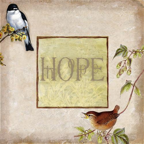 Love & Hope I, Set of 2