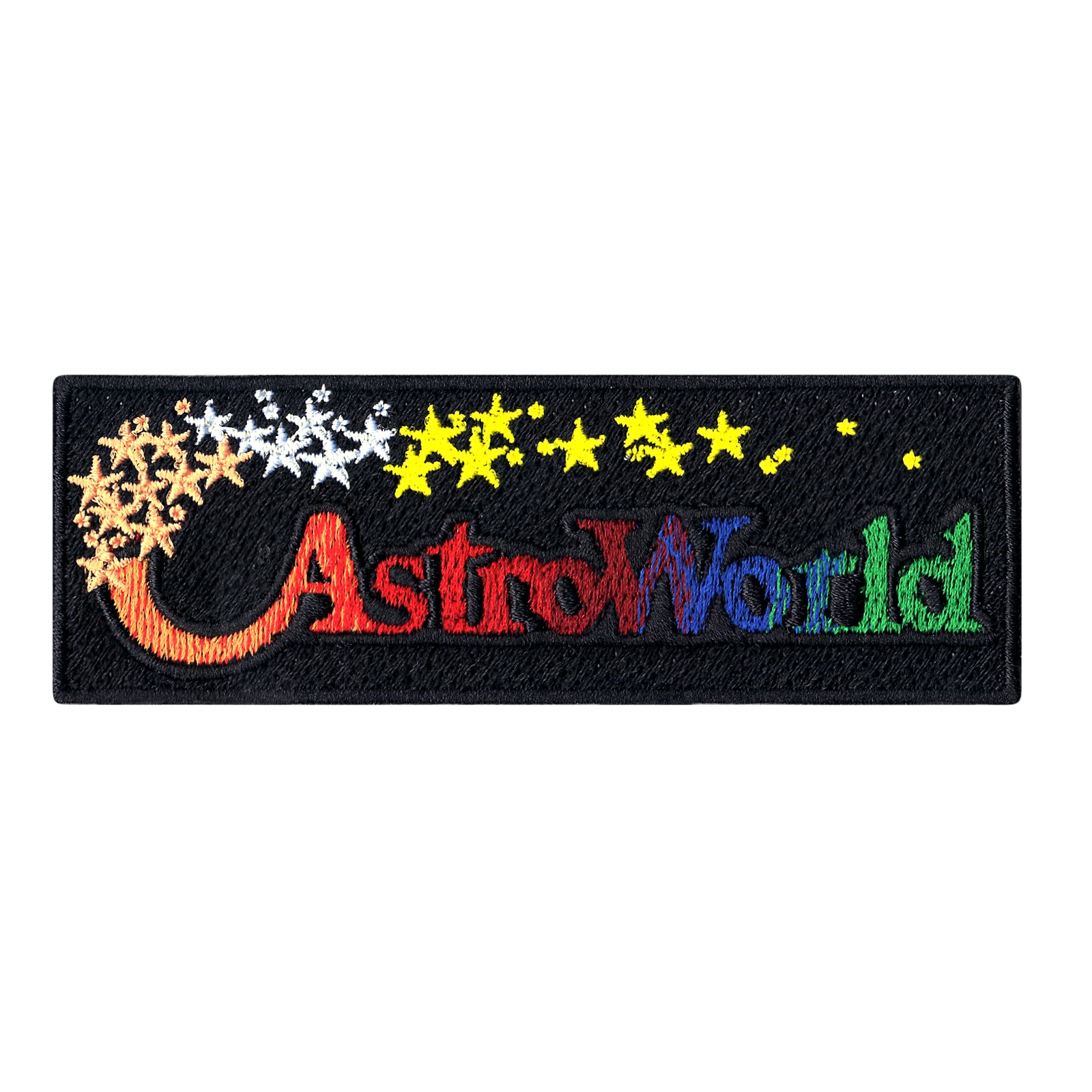 Original Astroworld Theme Park Iron On Patch